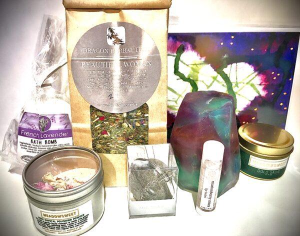 Items in our Mother's Day gift kit